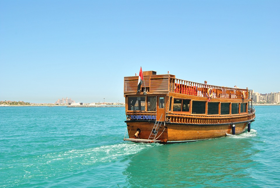 A humble Wooden DHow