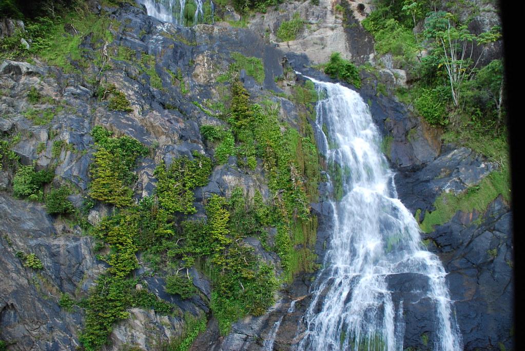 the barren waterfalls