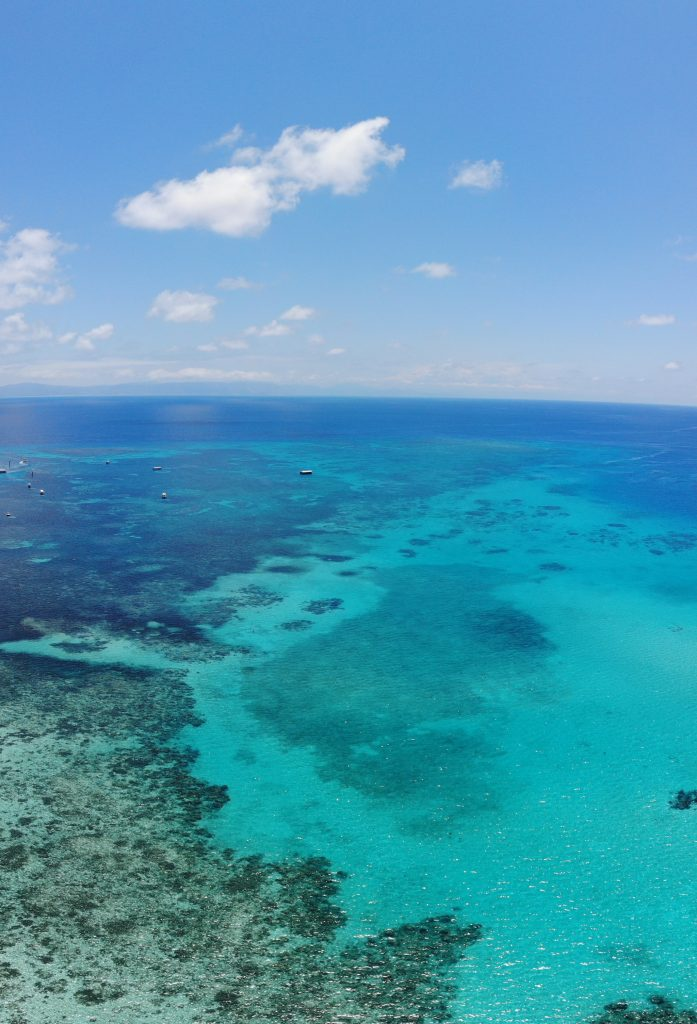 Great Barrier Reef, one of the top attractions in the Whitsunday Islands