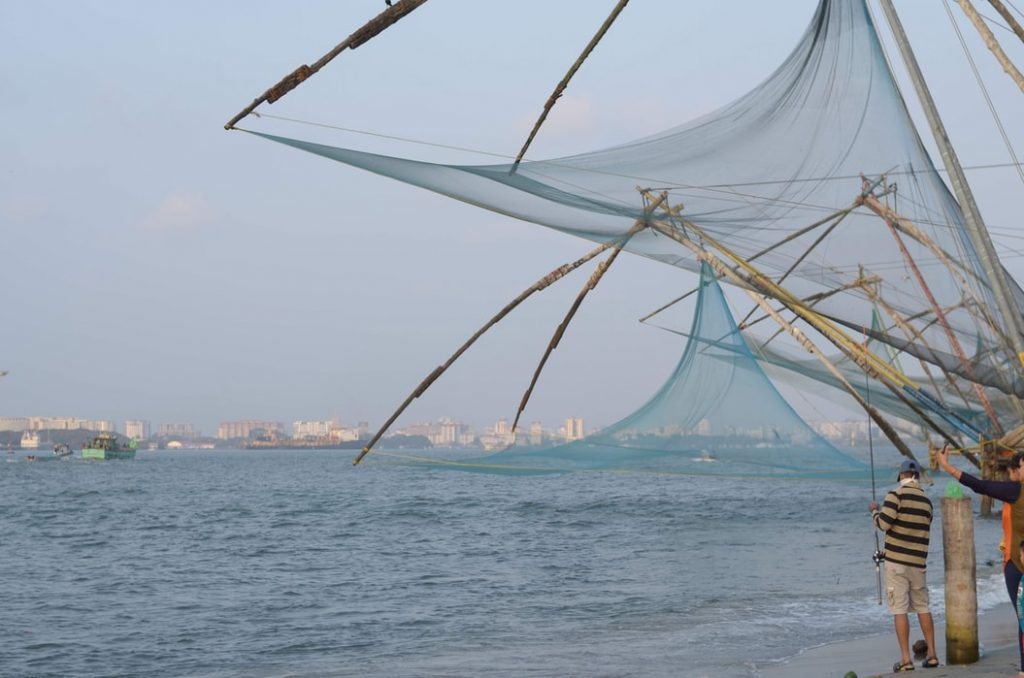 Chinese nets in Cochin