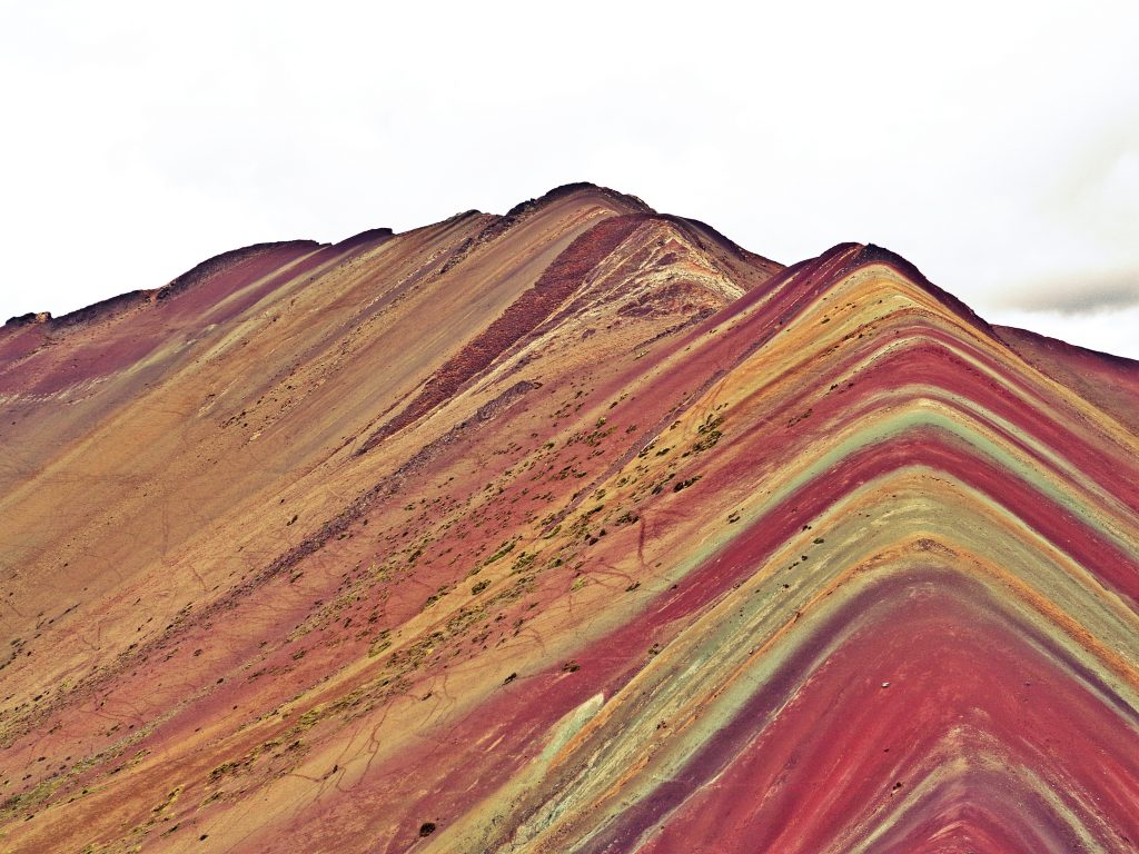 The colourful mountain