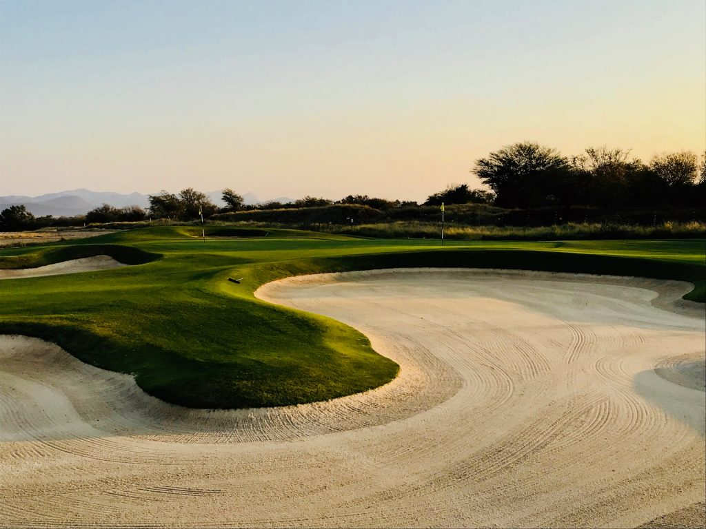 Golf course at Costa del Sol