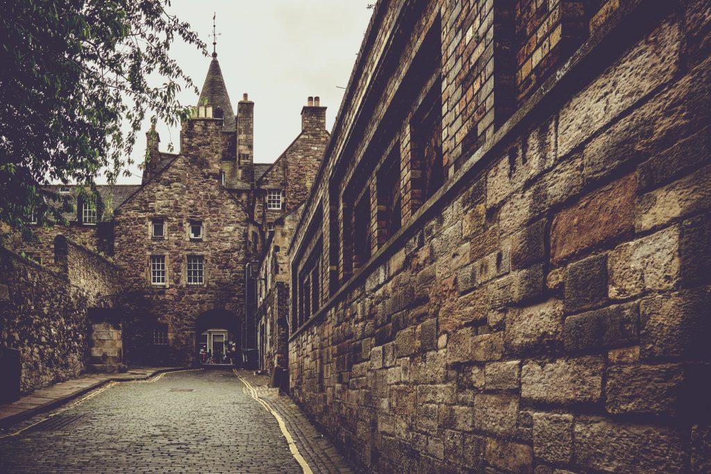 Edinburgh in Scotland, United Kingdom