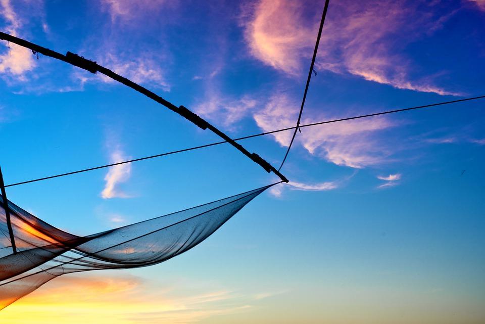 Chinese Fishing Nets at Cherai Beach