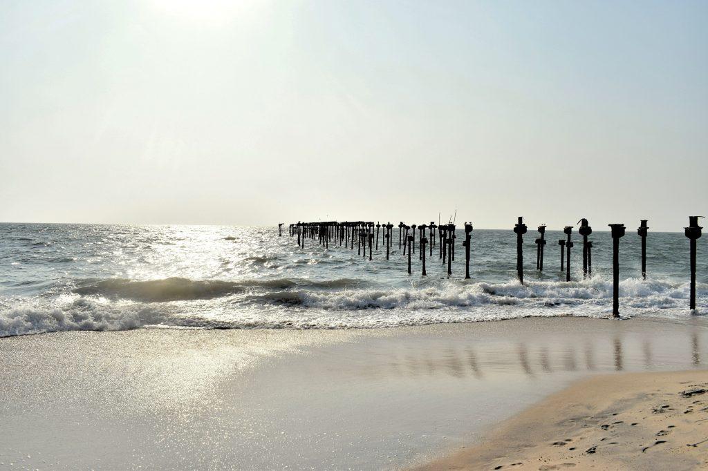 A beautiful view of Alappuzha Beach