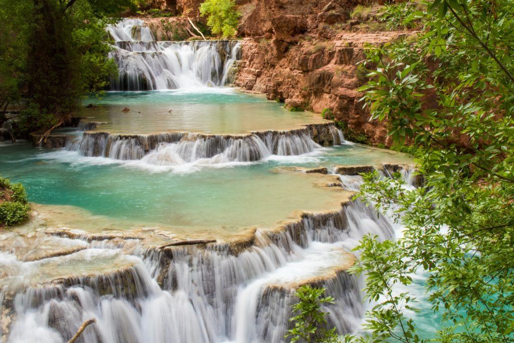 grand waterfalls in Arizona