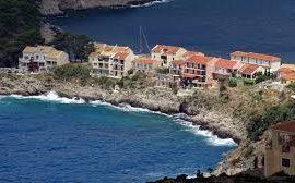 houses on the coastal line