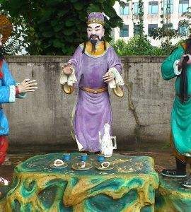 statues in the haw par villa