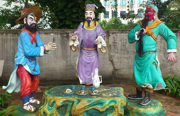 statues in the haw par villa