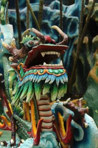 the dragon in haw par villa