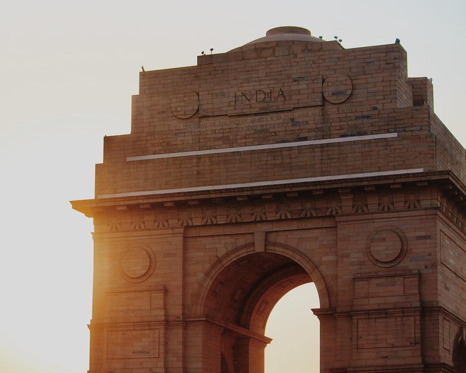 India gate in India