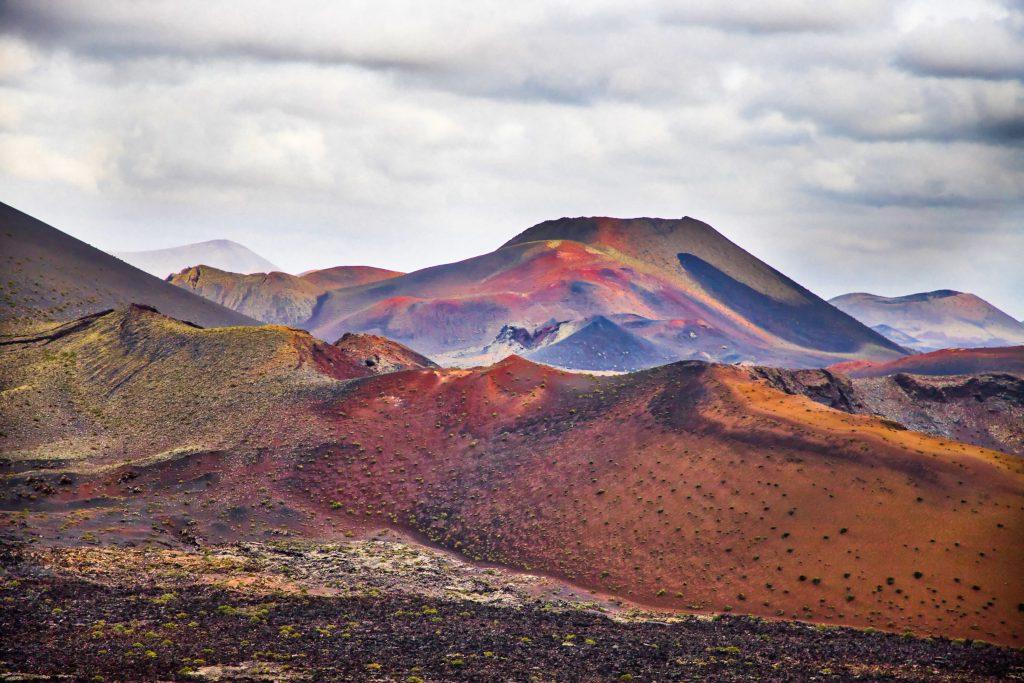 Landscapes of Lanzarote, Spain