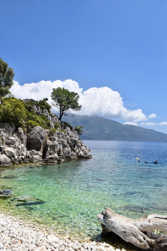 pebble beaches of Kefalonia