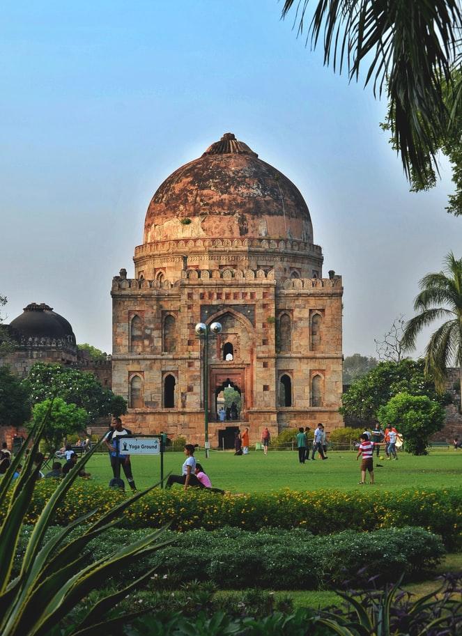 Lodhi Gardens in Delhi