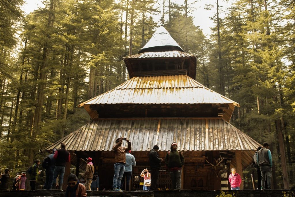 a temple in Manali