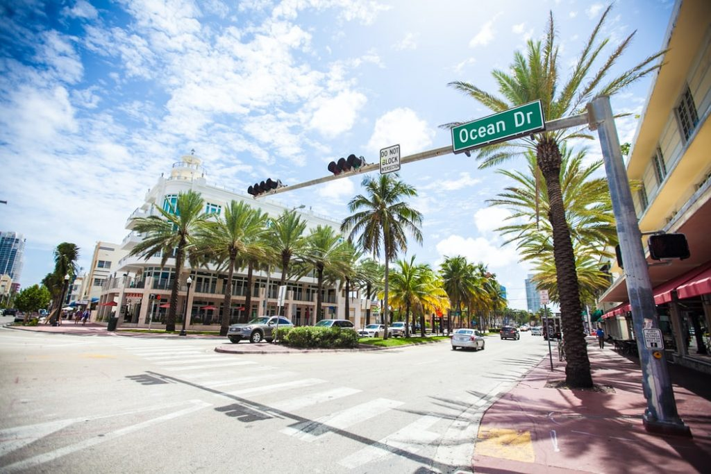 a street in Miami