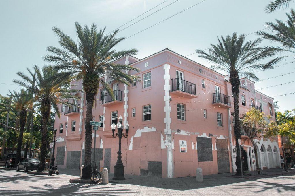 a building in Little Havana