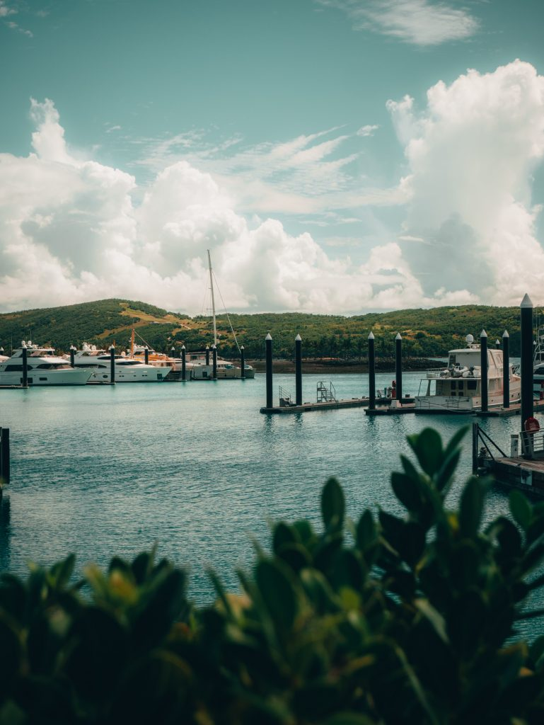 A picture that was taken at the Hamilton Island