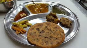 Paranthas served on a plate