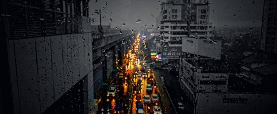 Busy streets of Ernakulam