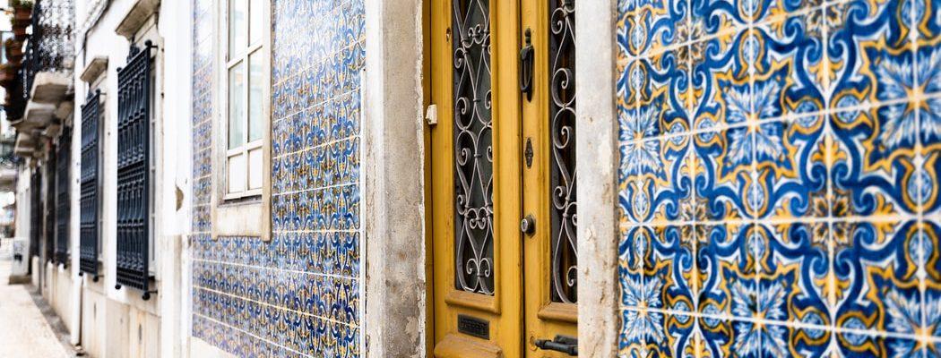 beautiful tile work of Faro