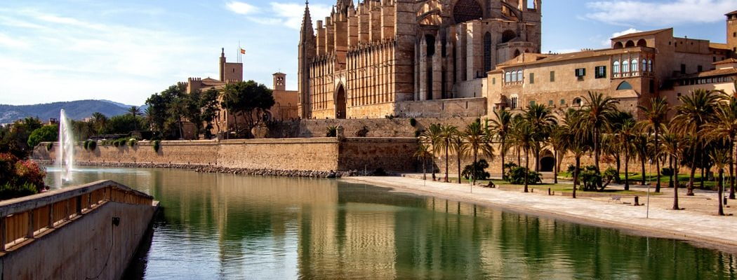 Palma Cathedral in Mallorca