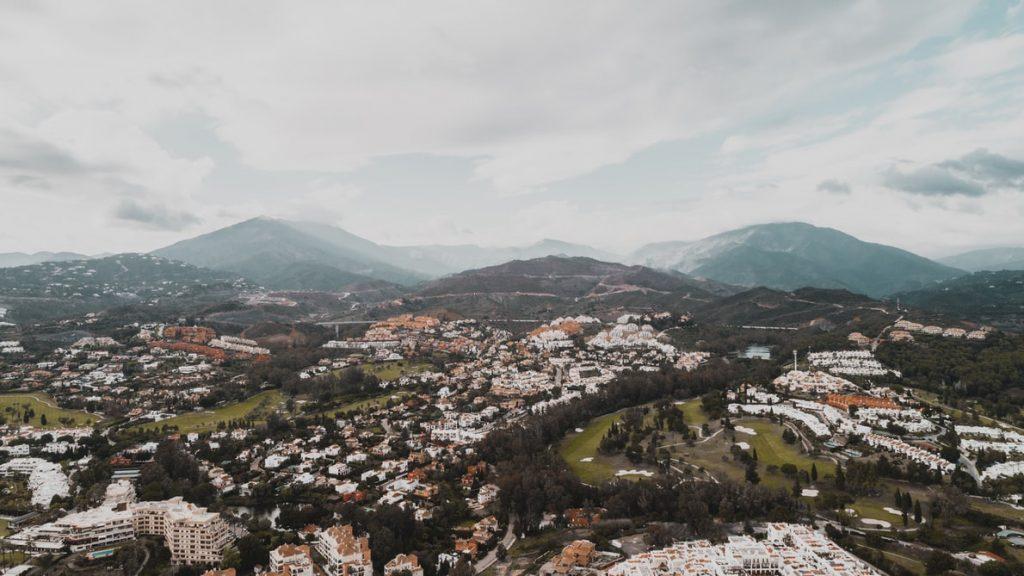 Marbella town, Spain