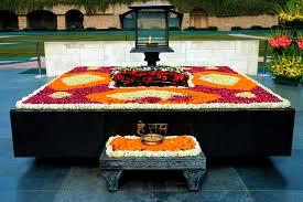 Gandhi Samathi in Raj Ghat
