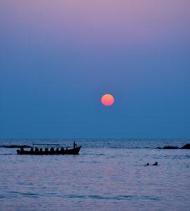 Sunset view in Gokarna