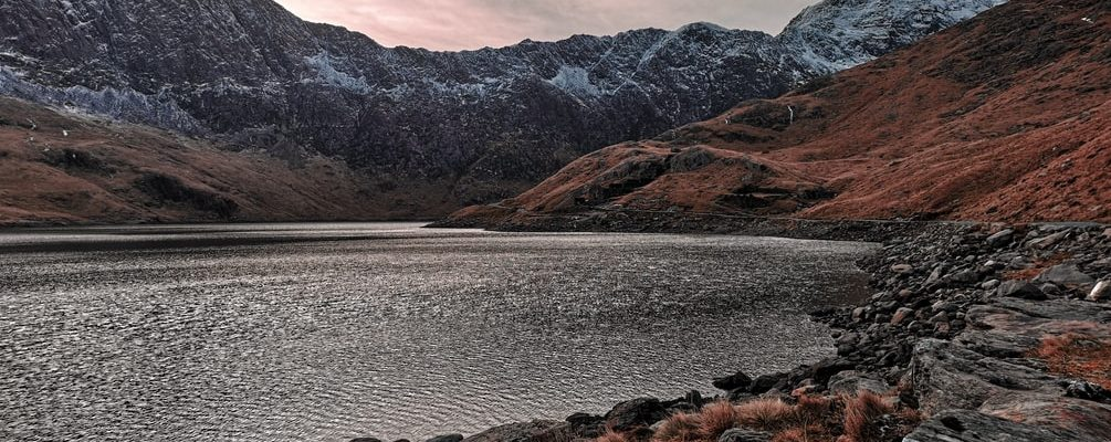 a lake in snowdonia