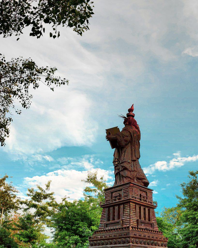 Statue of liberty in the wonder park, Delhi
