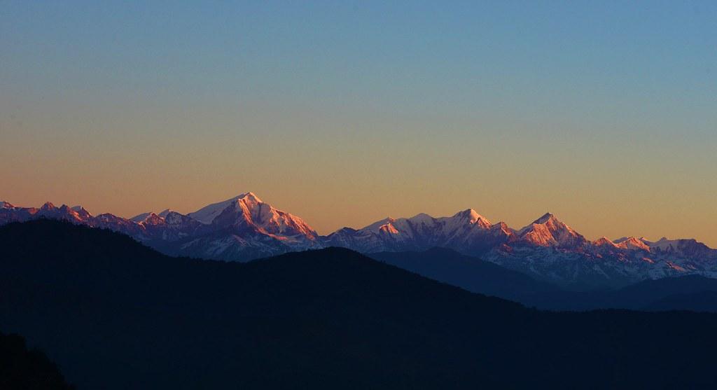 GoriChen mountain ranges in Tawang.