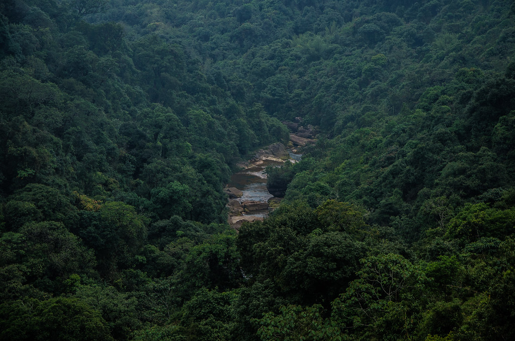 Beautiful landscape of Cherrapunji