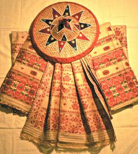 Silk saree in Assam