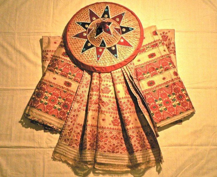 Silk saree in Assam