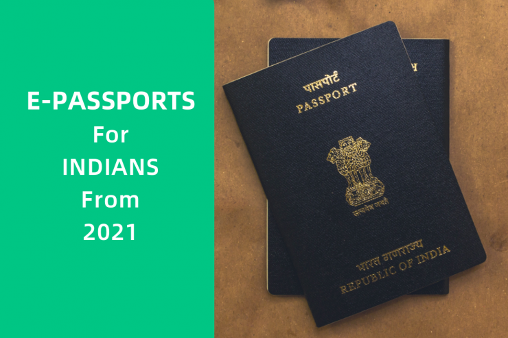 Indians to get e-passports from 2021