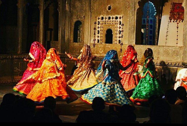 Ghoommar Dance in Rajasthan