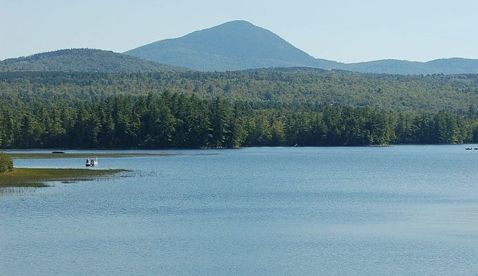 Mount Blue in Maine