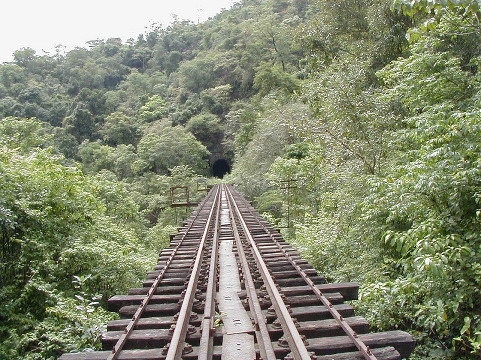The famous Railway Bridge in Sakleshpur.