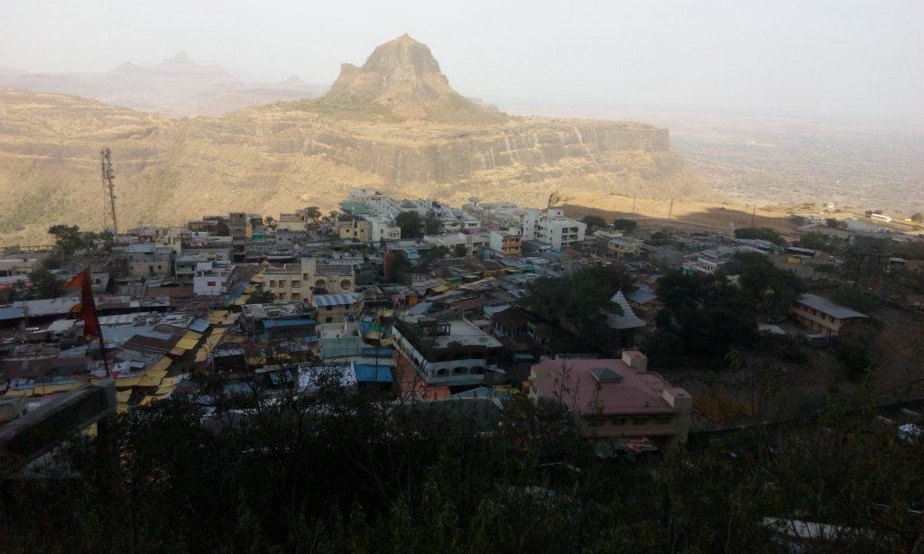 The beautiful view of the Saputara Village