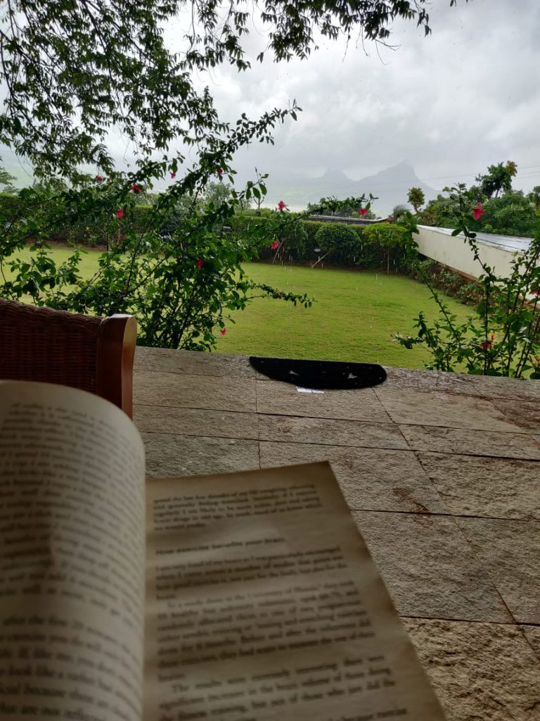 Reading books during vacation