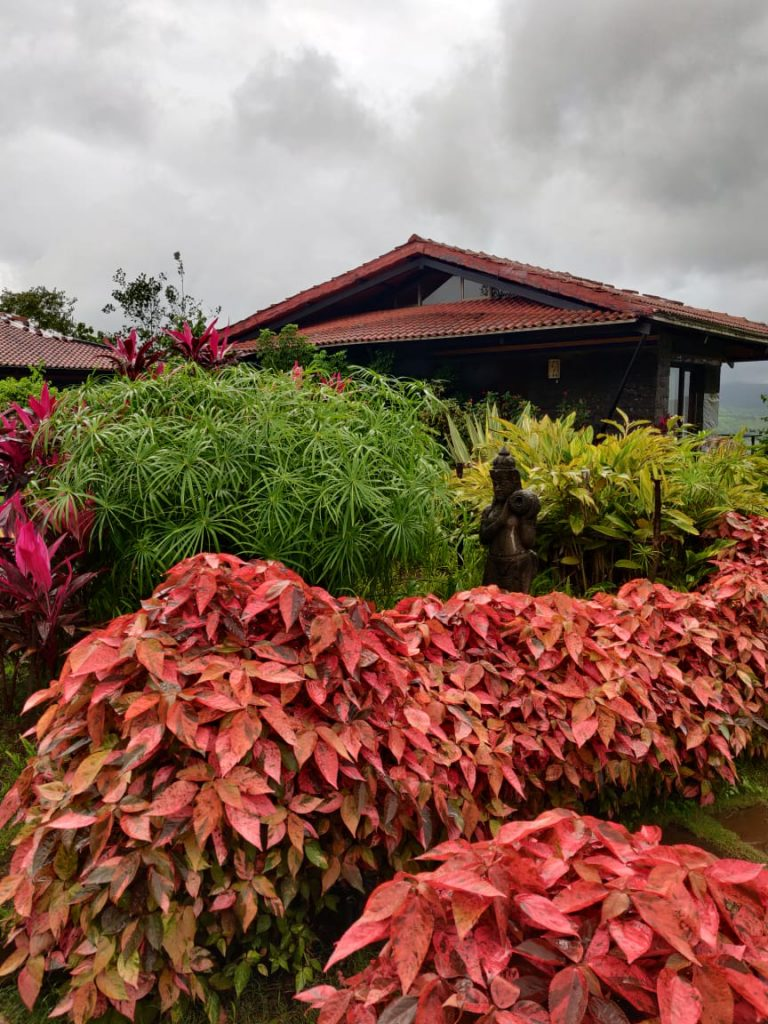 Gardens at our Maharashtra staycation property