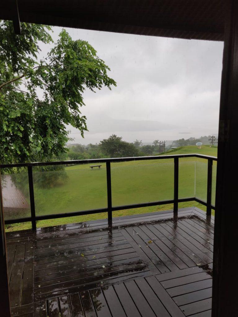 Wet verandah