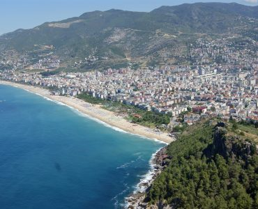 Panorama of Alanya resort city