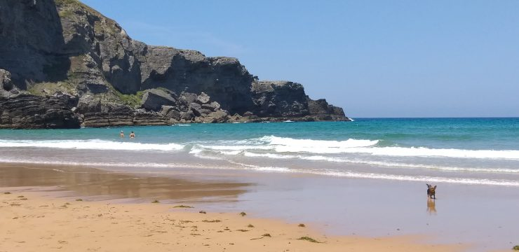 A click of a beach in Santander