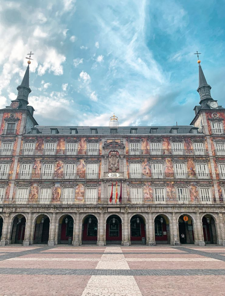 A stunning click of Plaza Mayor Madrid
