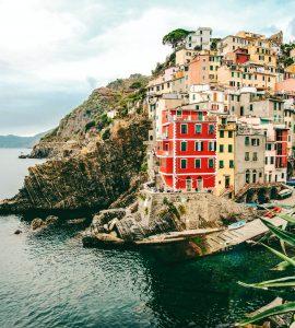 Riomaggiore in Italy