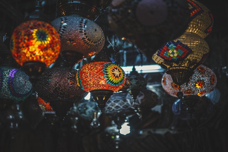 Night at Indian Market