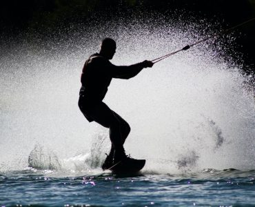 wake boarding at water parks in New Zealand