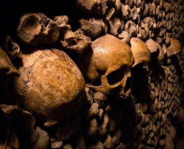 Weird places of the catacombs